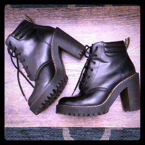 Dr. Martens Shoes - Persephone Doc Martens Platform Heels